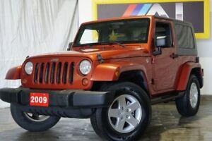 2009 Jeep Wrangler 4WD 2dr X,Rocky Mountain, Hard top, Manual