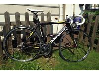 Boardman Road Pro Carbon Race Prepared Dura Ace Mavic Chris King Deda Fizik 53cm