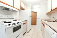Pet friendly 2 bedroom with insuite w/d, lots of storage!