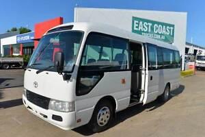 TOYOTA COASTER 50 SERIES DELUXE BUS #4586 Archerfield Brisbane South West Preview