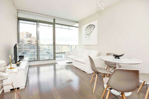 Yorkville Modern Furnished 1 Bedroom Condo