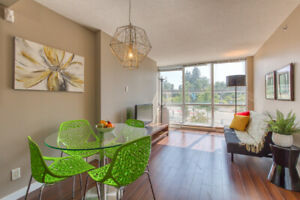 2beds, 2baths Condo, Right at King George Skytrain Station