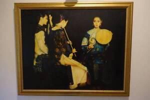 CHEN YIFEI (1946 - 2005) - Evening Feast 1994 Mosman Mosman Area Preview