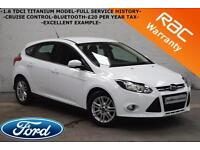 2013 Ford Focus 1.6TDCi 115BHP Titanium-1 OWNER-FULL SERVICE HISTORY-IMMACULATE-