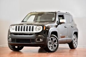 2017 Jeep Renegade Limited 4X4 CUIR CAMERA BLUETOOTH MAGS