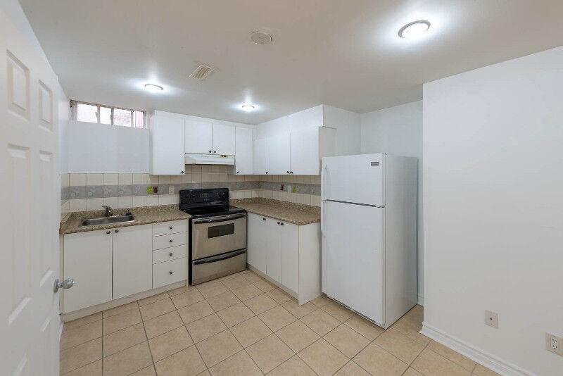 1.5 Bedroom Basement Apartment In Vaughan