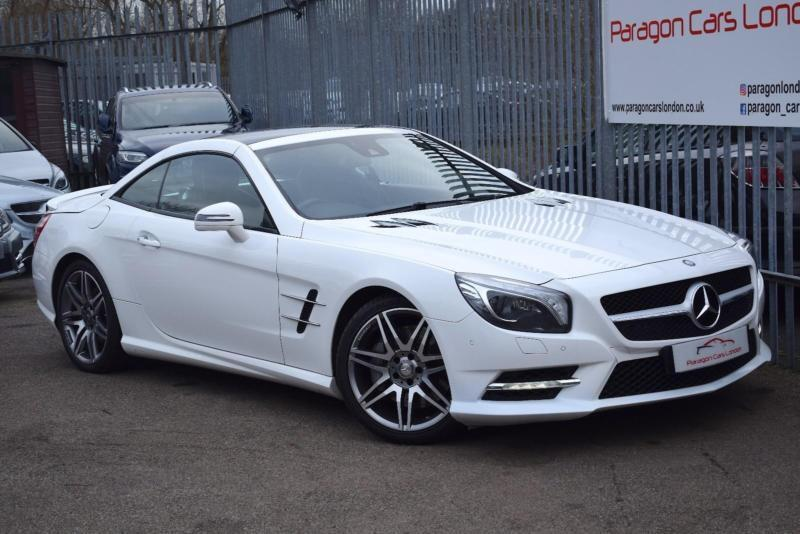 2014 Mercedes Benz SL SL350 Coupe Convertible 3.5 306 SS AMG Sport 7GT  Petrol Wh