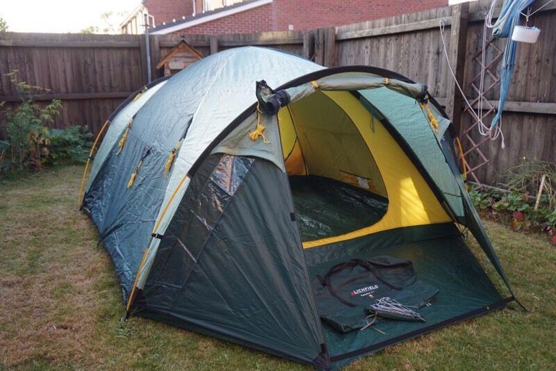 Lichfield Apache 4+ (4man dome tent) & Lichfield Apache 4+ (4man dome tent) | in Burscough Lancashire ...