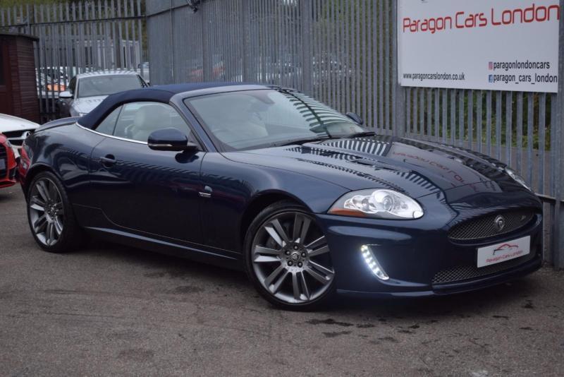 2010 Jaguar XK Convertible 5.0V8 510 EU5 XKR Auto6 Petrol Blue Automatic