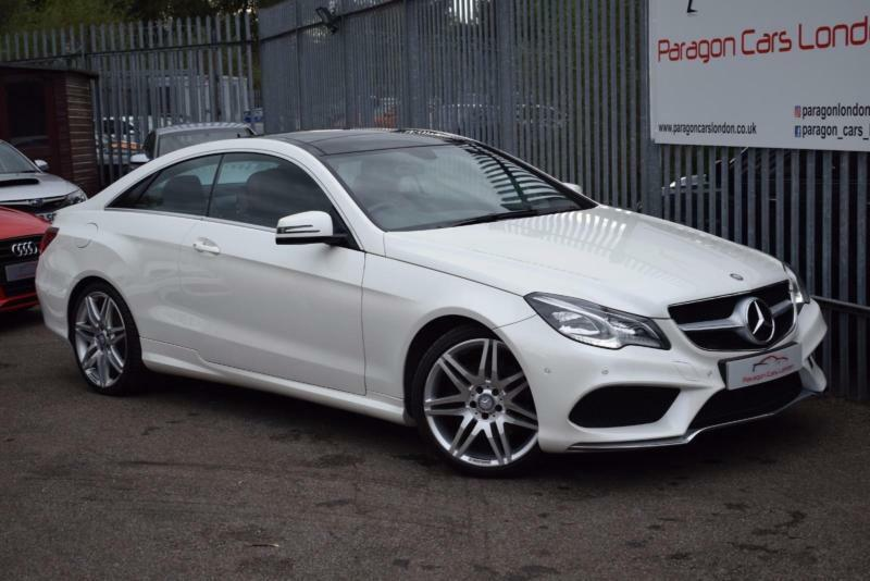Superb 2013 Mercedes Benz E Class E350 Coupe 3.0CDi BluTEC 252 SS AMG Sport 7GT+