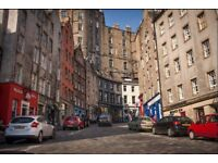 Furnished Two Bedroom Apartment on West Bow - Edinburgh Grass Market - Available 25/10/2017