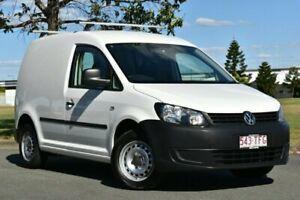 2012 Volkswagen Caddy 2KN MY12 TSI160 Runner White Manual Van