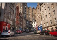 Furnished Two Bedroom Apartment on West Bow - Edinburgh Grassmarket - Available 20/12/2016