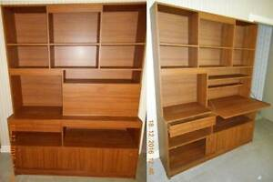 Side Case - Book -Liquor Cabinet Teak Finish Gulfview Heights Salisbury Area Preview