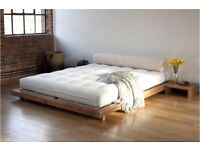 The Futon company Brand new solid acacia wood bed frame