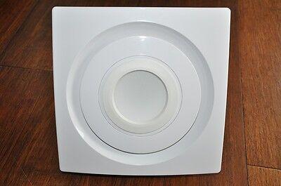 Bathroom Exhaust Fan SILENT SERIES , 85 CFM, LED LIGHT,White