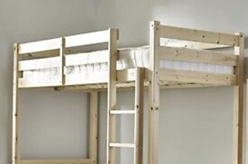 3ft Single Upper / loft Bed, Manual, Strictly Beds and Bunks - Everest Classic fine wood Bed
