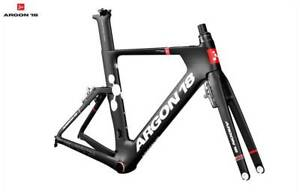 2018 Argon 18 E-117 Tri Frameset Blk/Red or Gloss Blue rrp$2299 Concord West Canada Bay Area Preview