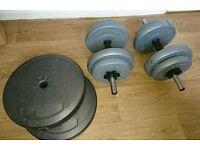 Dumbbell set 35kg
