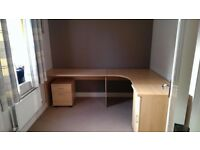 L Shape office desk