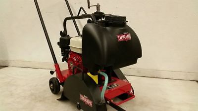 Since 1958 Kelly Dura Mfg. Honda Walk Behind Concrete Saw 14 Walkbehind Cement
