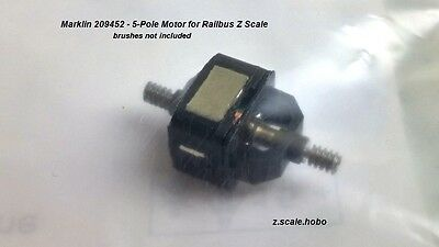 Marklin Z Scale 209452 5 Pole Motor Upgrade Railbus Part Repair *NEW $0 SHIPPING
