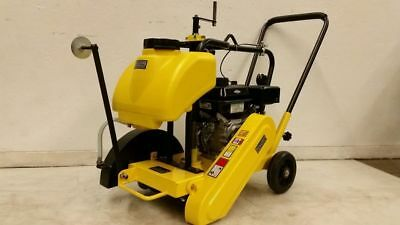 New Bulldog Mfg Walk Behind Concrete Saw 14 Walkbehind Cement Loncin Engine