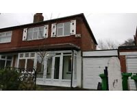 To Rent 3 Bedroom semi detached house in Chorlton £1025
