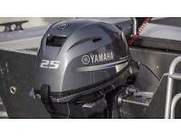 Yamaha F25G MODEL 2017 (LOW PRICES) [Flood-Marine]