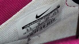 Purple Nike Dunk Sky Hi Wedges Trainers