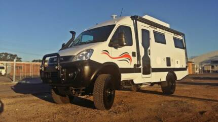 4x4 Iveco Daily Motorhome SHELL