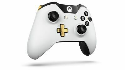 Official Xbox One Wireless Controller Limited Edition Lunar White 3.5mm Jack