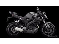 Yamaha mt 125cc BRAKEING BRAKEING