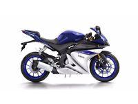 YZF-R125 ABS (124cc) - 66 PLATE (2016) - 17 MILES - RACE BLUE