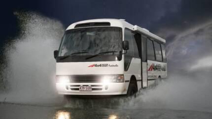 Bus 4x4 Motorhome conversion of Toyota Coaster SHELL