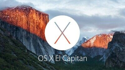 OSX 10.11.6 (EL CAPITAN) Bootable Install DVD - Easy system recovery / install