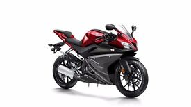 New Unregistered 2017 Yamaha YZF-125R with 0% Finance