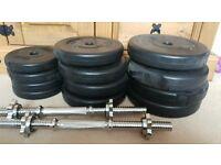 35kg Dumbell Set