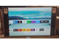 "Samsung Smart 4K UHD, LED, HDR, UE49MU6470 49"" Flat Screen TV. Like New."
