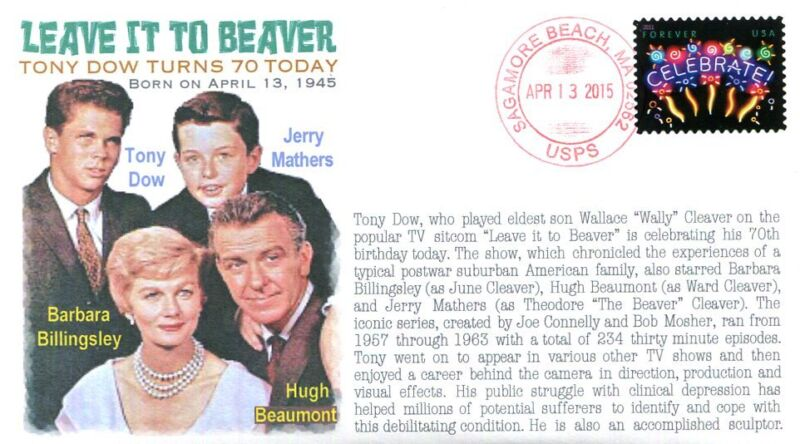 COVERSCAPE computer designed 70th anniversary birth of Tony Dow event cover