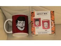 Brand new in box - Novelty - MUG - heat changing, fill and hair disappears., smoke and pet free home