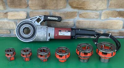 Ridgid 690 Pipe Threading Threader Machine 12-2 Dies Rigid 300 700 2