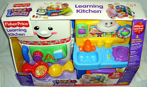 Fisher Price Learning Kitchen Baby TOY Abcs Laugh Learn Shapes Colors