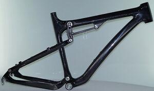 BQ-Cycles MTB Carbon Rahmen Fully 26 Zoll Größe: 17