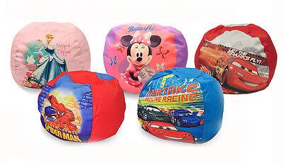 Disney Character Kids Round Bean Bag Chair ...