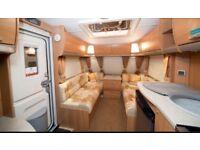 Swift 545 four birth caravan