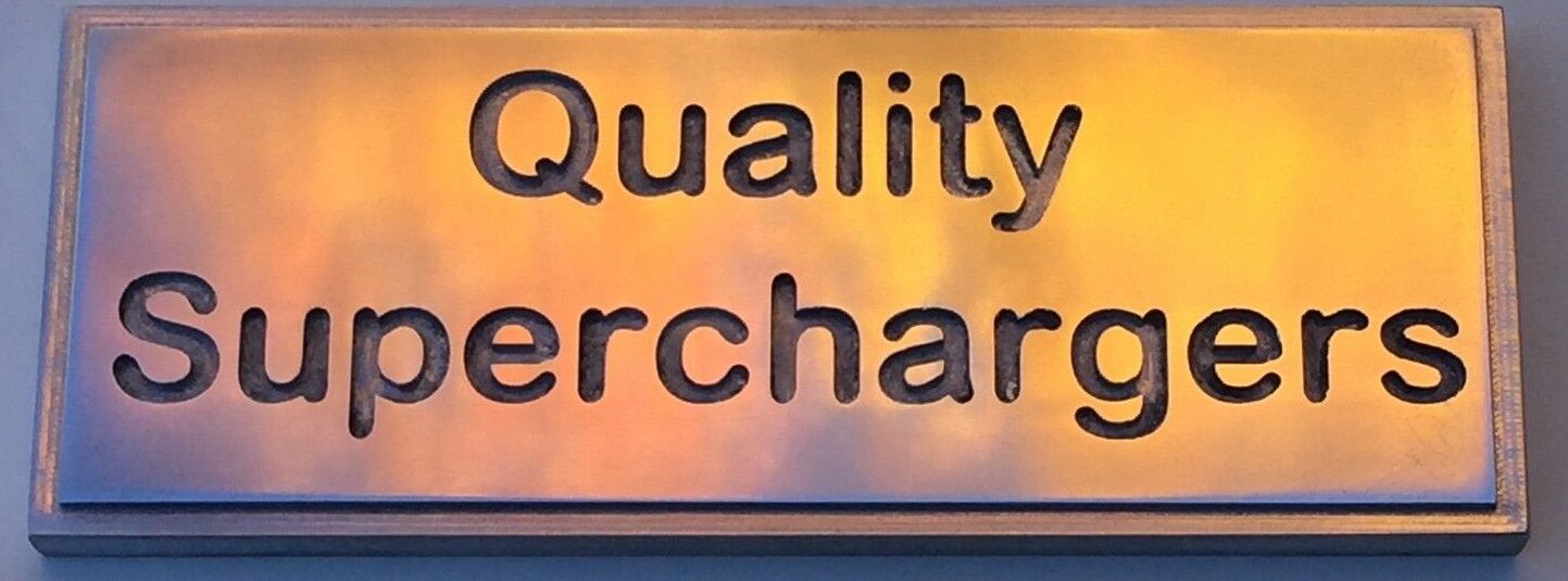 Quality Superchargers