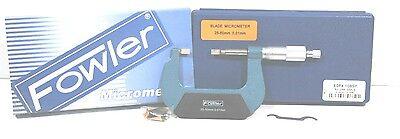 Fowler 52-246-050 Blade Micrometer Metric 25-50mm