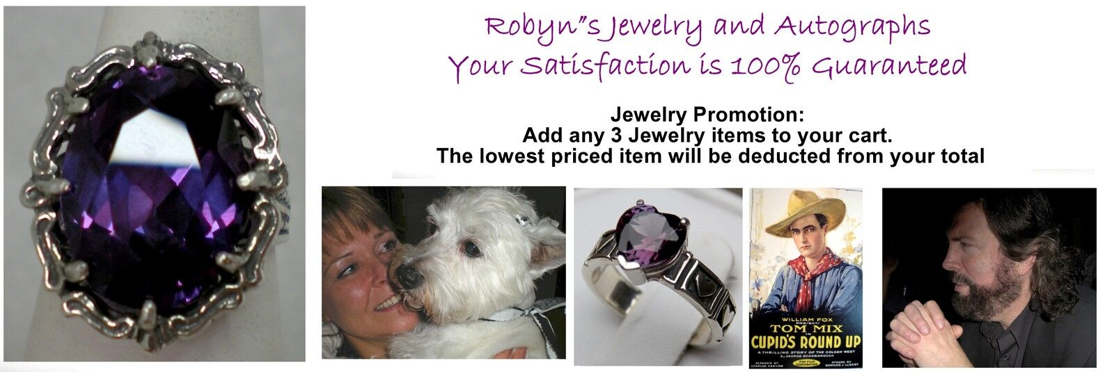 ROBYN'S JEWELRY and AUTOGRAPHS