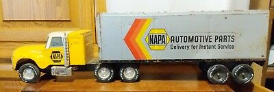 Nylint Napa Auto Parts Metal Toy Semi Truck Automotive Parts Delivery Service